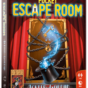 Pocket Escape Room - Achter het Gordijn