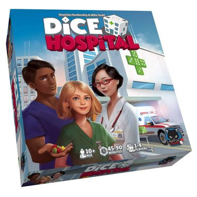 Dice Hospital + Dice Hospital Deluxe Add-Ons Box