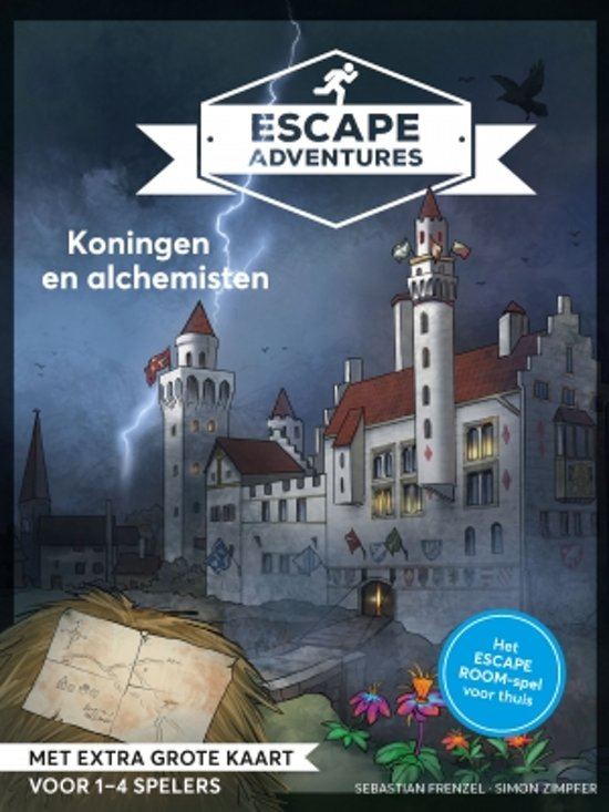 Escape Adventures - Koningen en Alchemisten