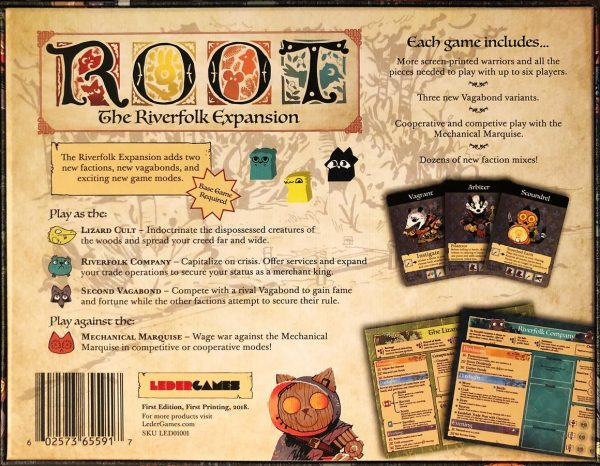 Root The Riverfolk Expansion